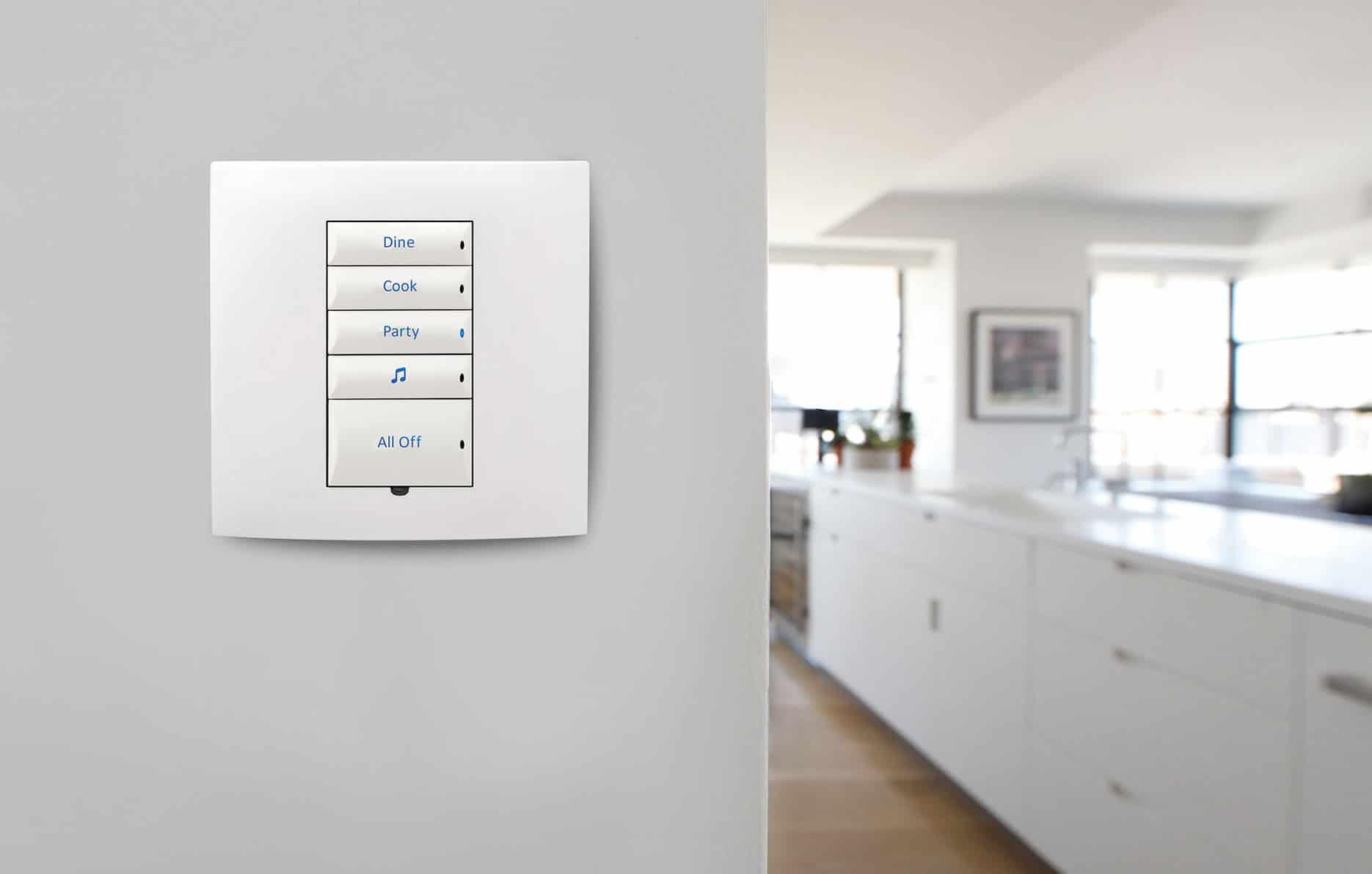 Control4 Smart Lighting Keypad