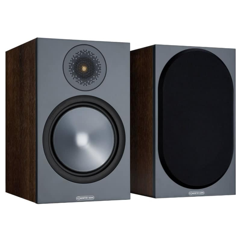 Monitor Audio Bronze 100 Walnut front