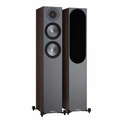 Monitor Audio Bronze 200 Walnut front