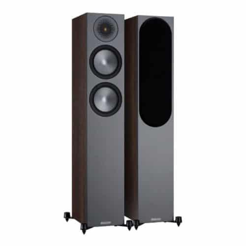 Monitor Audio Bronze 200 Walnut front