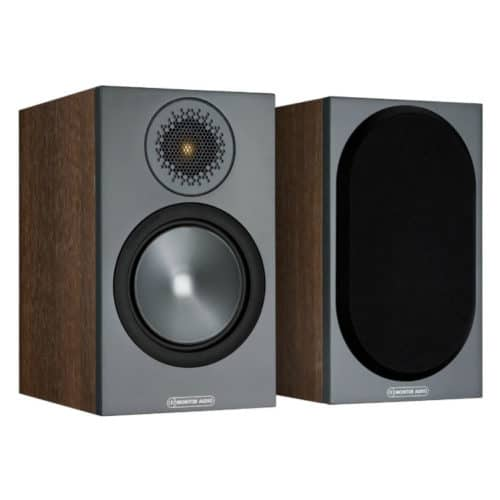 Monitor Audio Bronze 50 Walnut front