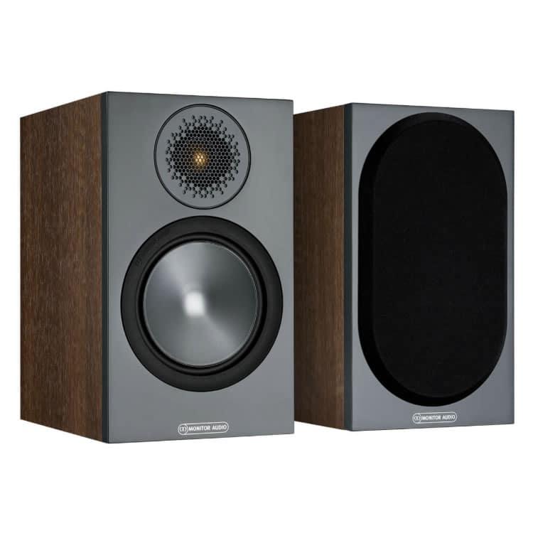 Monitor Audio Bronze 50 Walnut front