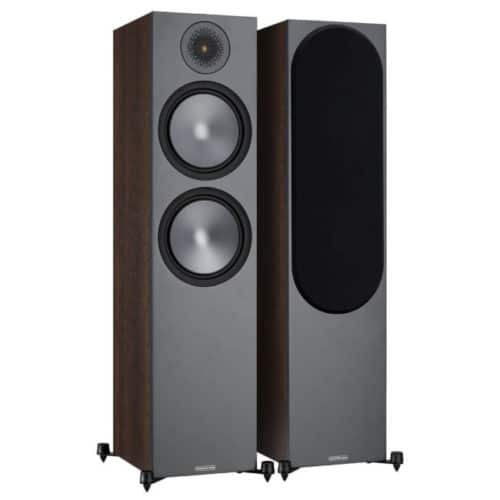 Monitor Audio Bronze 500 Walnut front