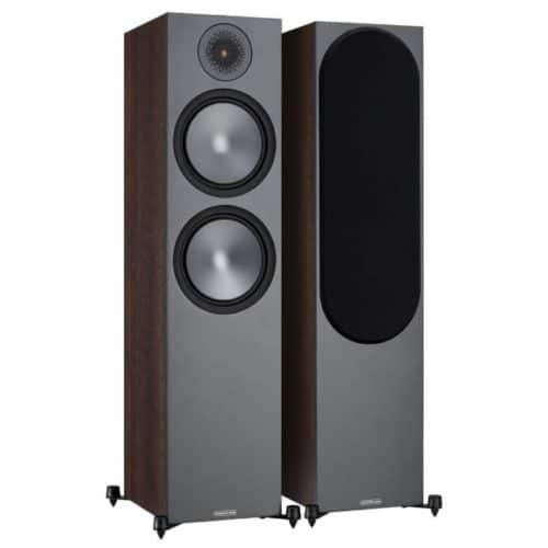 Monitor Audio Bronze 500 Walnut front