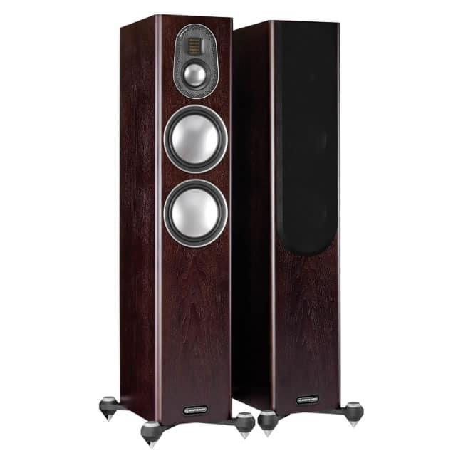 Monitor Audio Gold 200 Dark Walnut front