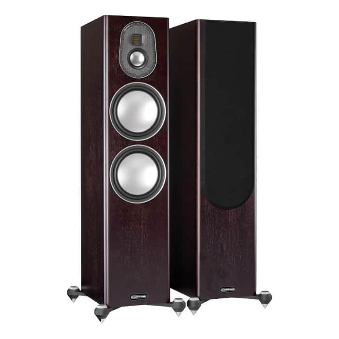 Monitor Audio Gold 300 Dark Walnut front
