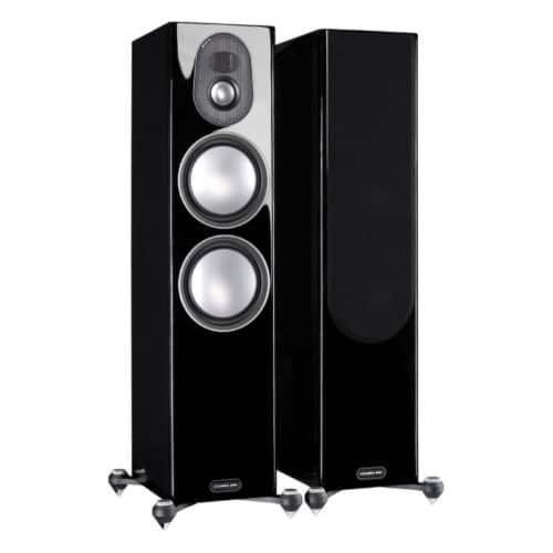 Monitor Audio Gold 300 Piano Gloss Black front