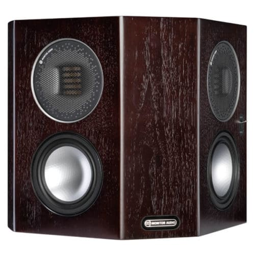 Monitor Audio Gold FX Dark Walnut front