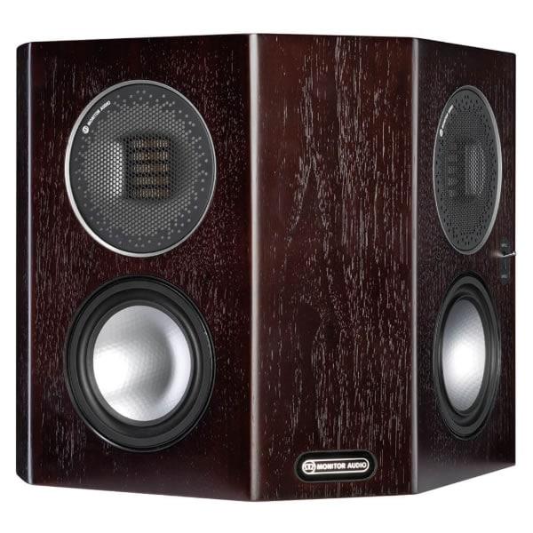 Monitor Audio Gold FX Dark Walnut front