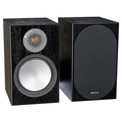 Monitor Audio Silver 100 Black Oak front