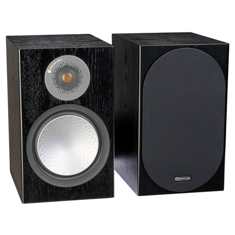 Monitor Audio Silver 100 Black Oak front
