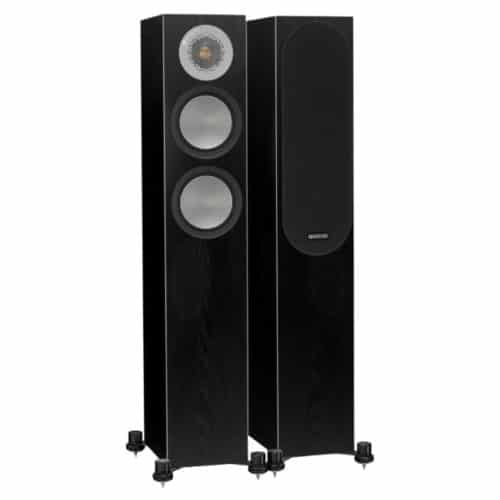 Monitor Audio Silver 200 Dark Oak front