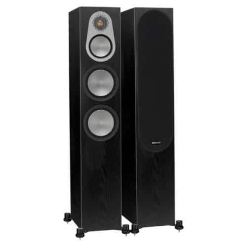 Monitor Audio Silver 300 Dark Oak front