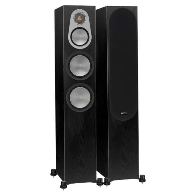 Monitor Audio Silver 300 Dark Oak front