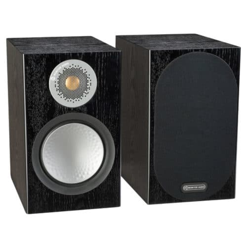 Monitor Audio Silver 50 Black Oak front