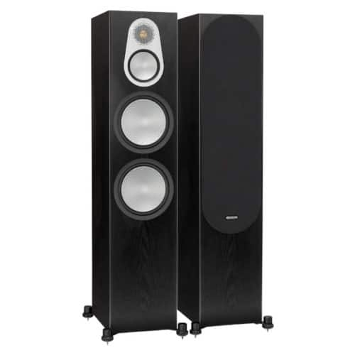 Monitor Audio Silver 500 Dark Oak front