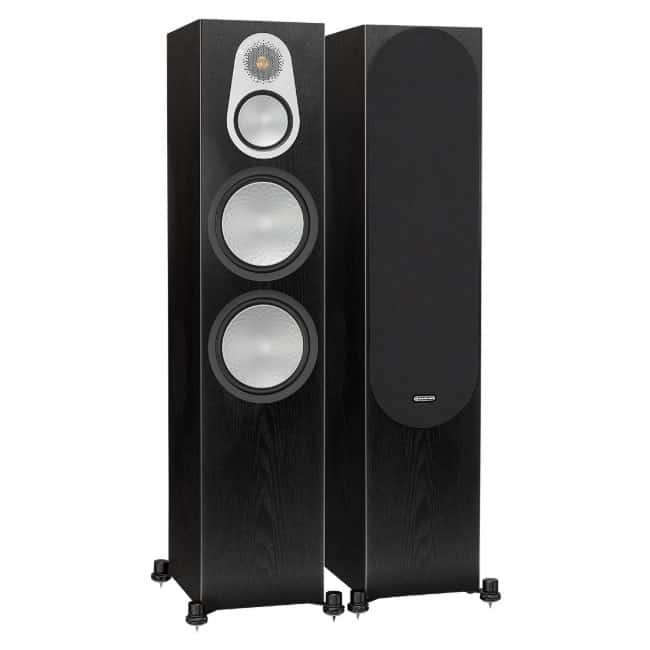 Monitor Audio Silver 500 Dark Oak front